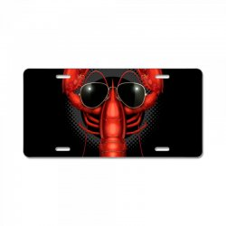 COOL LOBSTER License Plate | Artistshot