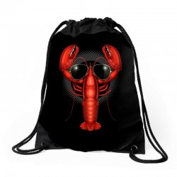 COOL LOBSTER Drawstring Bags | Artistshot