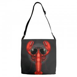 COOL LOBSTER Adjustable Strap Totes | Artistshot