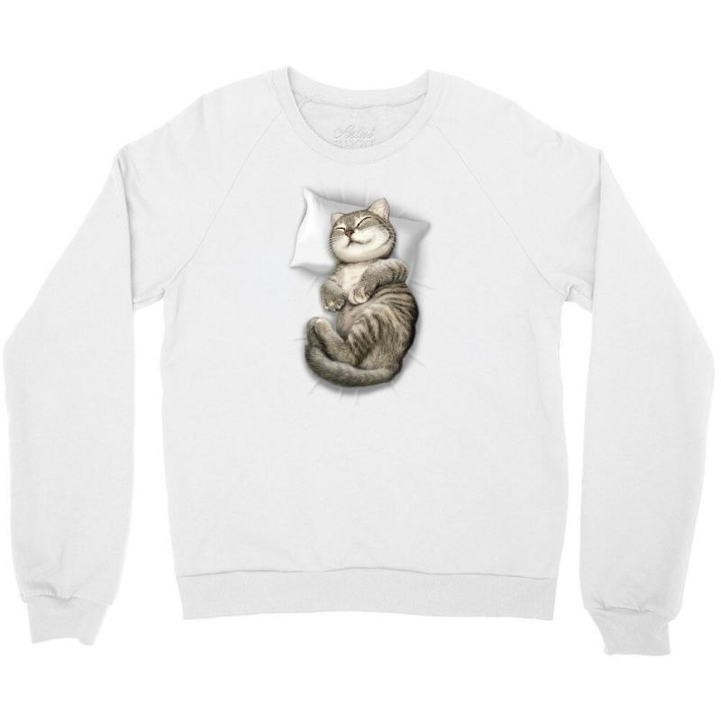 Cat Sleeping Crewneck Sweatshirt | Artistshot