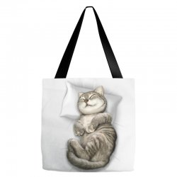 CAT SLEEPING Tote Bags | Artistshot