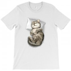 CAT SLEEPING T-Shirt | Artistshot