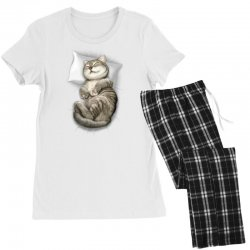 CAT SLEEPING Women's Pajamas Set | Artistshot