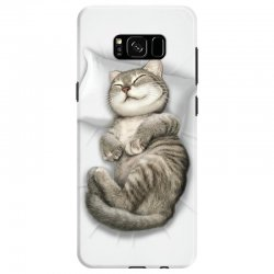 CAT SLEEPING Samsung Galaxy S8 | Artistshot