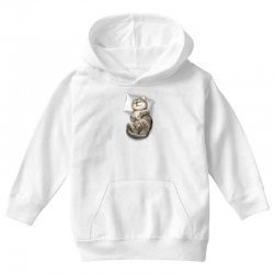 CAT SLEEPING Youth Hoodie | Artistshot