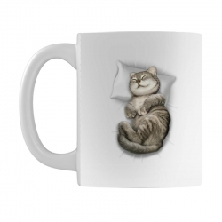 CAT SLEEPING Mug | Artistshot