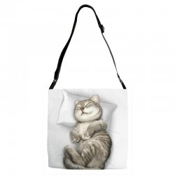 CAT SLEEPING Adjustable Strap Totes | Artistshot