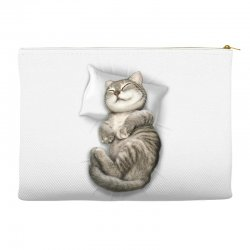 CAT SLEEPING Accessory Pouches | Artistshot
