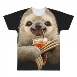 sloth & soft drink All Over Men's T-shirt | Artistshot