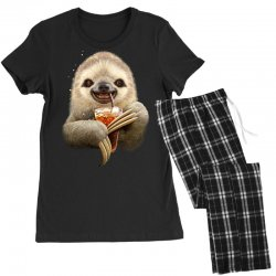 sloth & soft drink Women's Pajamas Set | Artistshot