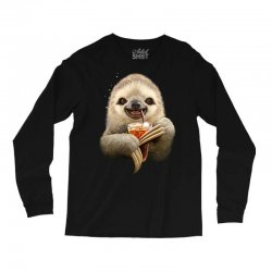 sloth & soft drink Long Sleeve Shirts | Artistshot
