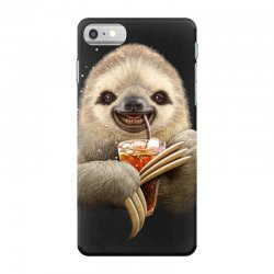 sloth & soft drink iPhone 7 Case | Artistshot