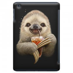 sloth & soft drink iPad Mini | Artistshot
