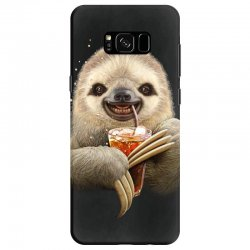 sloth & soft drink Samsung Galaxy S8 | Artistshot