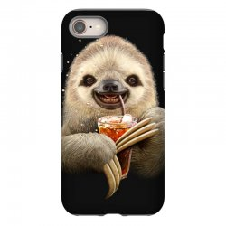 sloth & soft drink iPhone 8 | Artistshot