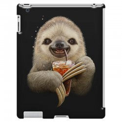 sloth & soft drink iPad 3 and 4 Case | Artistshot