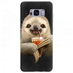 sloth & soft drink Samsung Galaxy S8 Plus | Artistshot