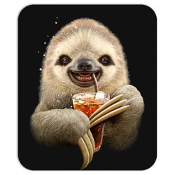 sloth & soft drink Mousepad | Artistshot