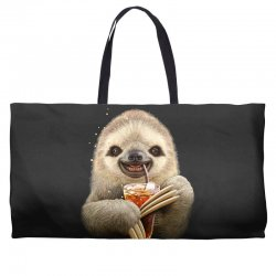 sloth & soft drink Weekender Totes | Artistshot