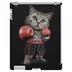 boxing cat iPad 3 and 4 Case | Artistshot