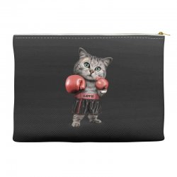 boxing cat Accessory Pouches | Artistshot