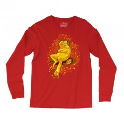 froggie relax mode Long Sleeve Shirts | Artistshot