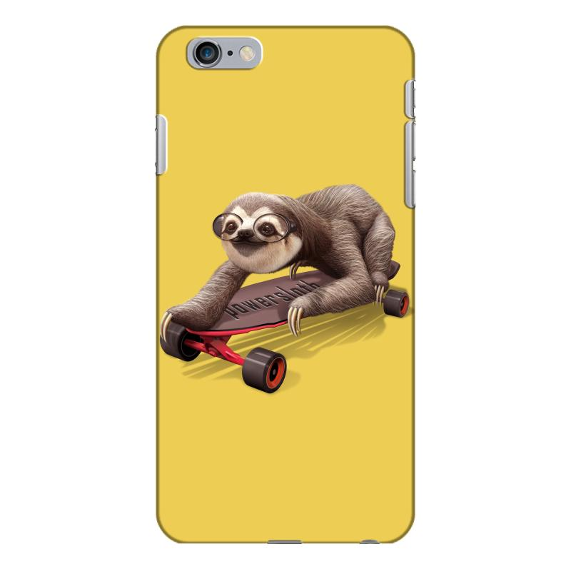 newest a3765 64161 Skateboard Sloth Iphone 6 Plus/6s Plus Case. By Artistshot