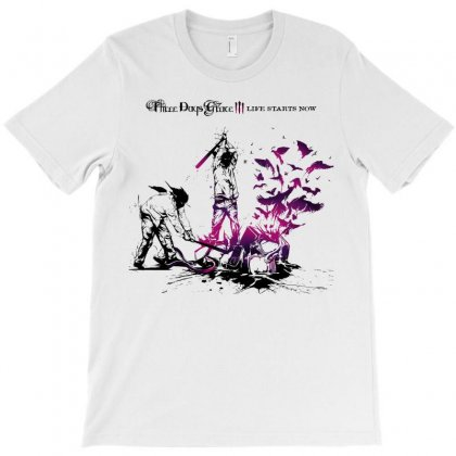 Three Days Grace T-shirt Designed By Allentees