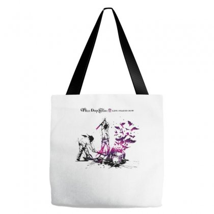 Three Days Grace Tote Bags Designed By Allentees