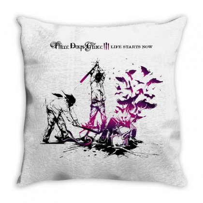 Three Days Grace Throw Pillow Designed By Allentees