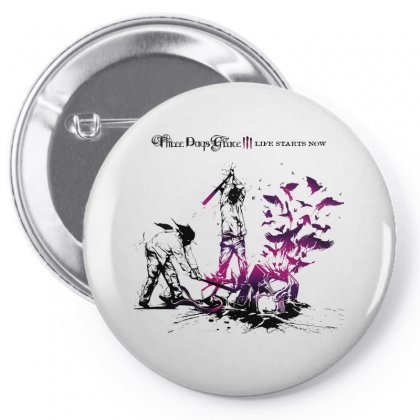 Three Days Grace Pin-back Button Designed By Allentees
