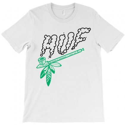 Huf Peace Pipe T-shirt Designed By Allentees