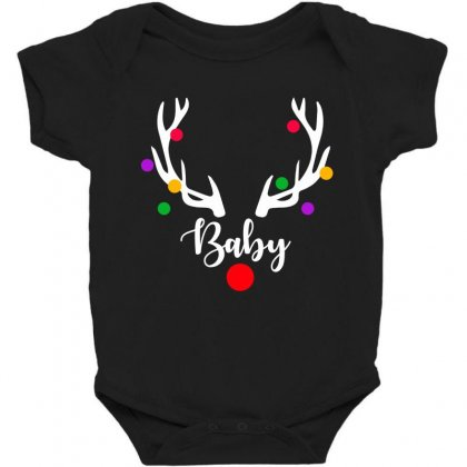 Baby Reindeer For Dark Baby Bodysuit