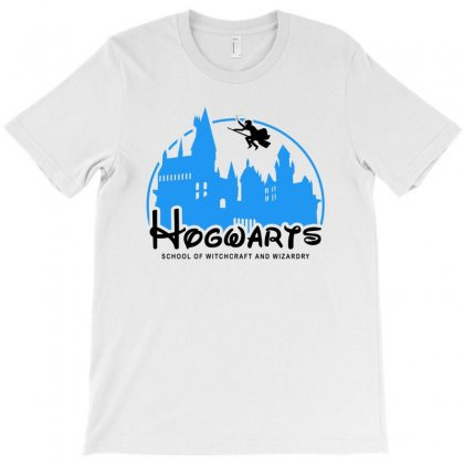 Hogwarts School Of Witchcraft And Wizardry For Light T-shirt Designed By Akin