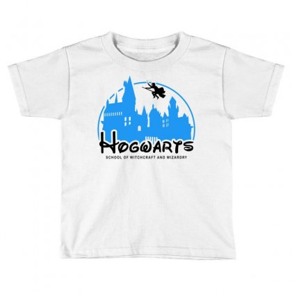 Hogwarts School Of Witchcraft And Wizardry For Light Toddler T-shirt Designed By Akin