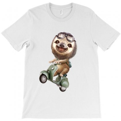 Runaway Sloth T-shirt Designed By Adam Jumali Lawless