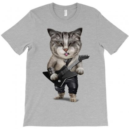 Metal Cat T-shirt Designed By Adam Jumali Lawless