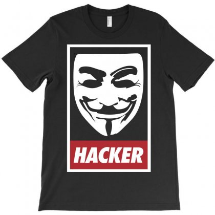Anonymous Hacker T-shirt Designed By Allentees