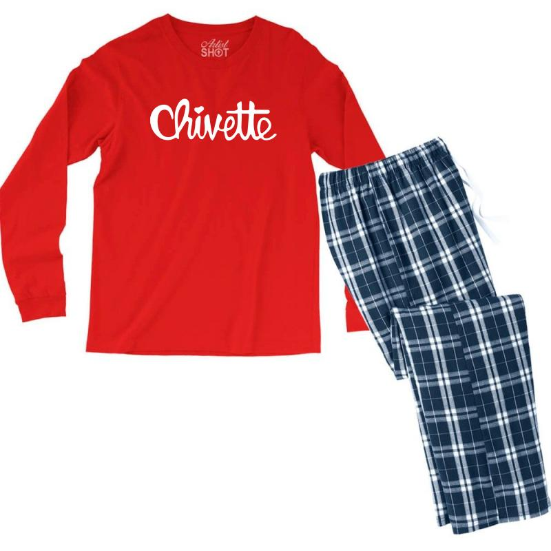 Chivette1 Men's Long Sleeve Pajama Set | Artistshot