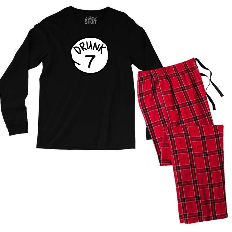 Drunk7 Men's Long Sleeve Pajama Set | Artistshot