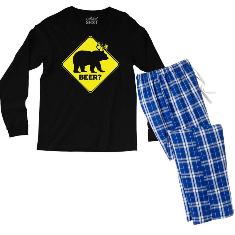 Beer Men's Long Sleeve Pajama Set | Artistshot