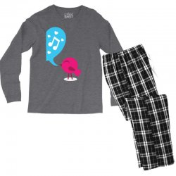 Love Bird Men's Long Sleeve Pajama Set | Artistshot