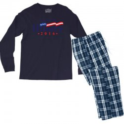 Ready For Hillary 2016 Men's Long Sleeve Pajama Set | Artistshot