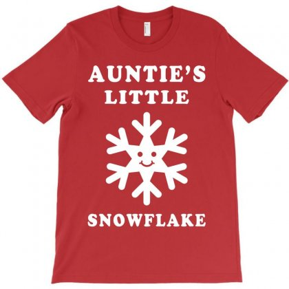 Auntie's Little Snowflake T-shirt Designed By Akin