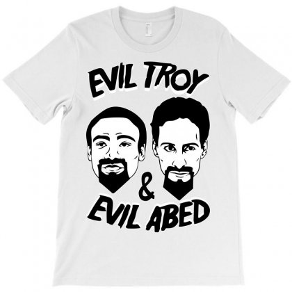 Evil Troy And Evil Abed T-shirt Designed By Shoptee