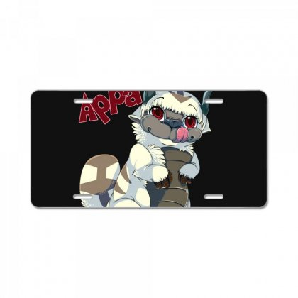 Appa Avatar License Plate Designed By Shoptee