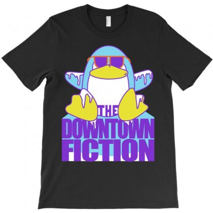 Downtown Fiction T-shirt Designed By Shoptee