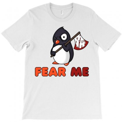 Fear The Penguin T-shirt Designed By Shoptee
