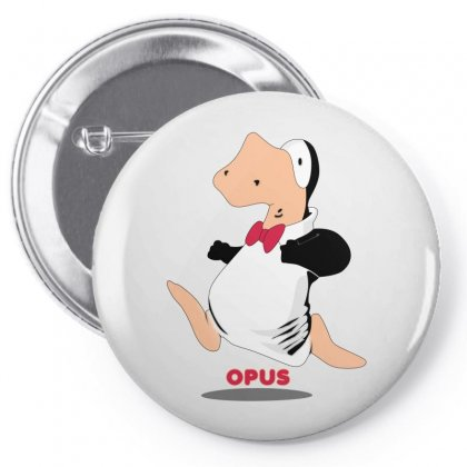 Opus Penguin Pin-back Button Designed By Shoptee