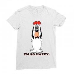 droopy dog Ladies Fitted T-Shirt | Artistshot